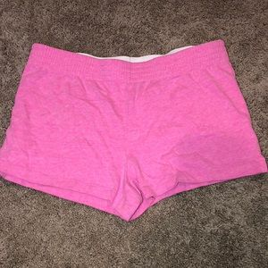 Pink soffee shorts